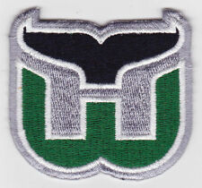 "HARTFORD WHALERS NHL HOCKEY 2.5"" DEFUNCT TEAM LOGO PATCH"