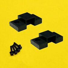 Technics SL1200/SL1210 Hinge MOUNT CABINET Pair SFUMM02N04 with SCREWS & WASHERS