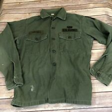 Us Army Green Uniform In Original Vietnam War Uniforms For