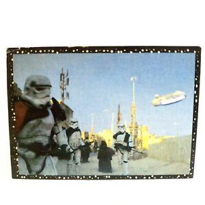 Star Wars Movie Scene Escape from Tatooine 1996 Panini Sticker Collector Card