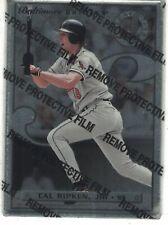 1996 Leaf Steel with Protective Film #17 Cal Ripken Jr. Baltimore Orioles