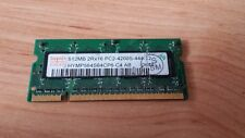 HYNIX HYMP564S64CP6-C4 MEMORIA RAM SO-DIMM DDR2 512MB PC2-4200S 533 MHZ TESTED