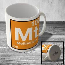 MUG_ELEM_134 (109) Meitnerium - Mt - Science Mug