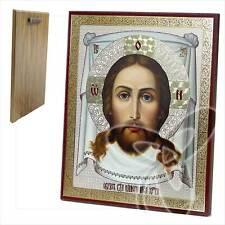 Ikone Jesus Acheiropoieton Holz 20 x 24 икона Спас Нерукотворный ikona
