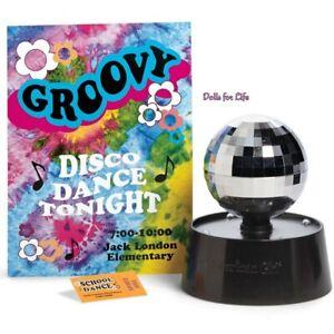 American Girl Julie Julie's Disco Ball ACCESSORIES NEW in BOX