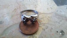 Silver Rings Vintage drama face mask  Ring