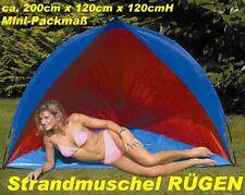 NEU Reise- STRANDMUSCHEL RÜGEN kleines Packmass 78094