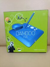 Bamboo Fun (Small) Blue Tablet with Mouse & Graphics Software CTE450B -