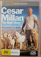 National Geographic - Cesar Millan - The Real Story (DVD, 2013) New  Region 4