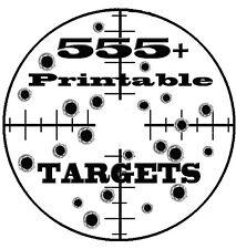 555 + PRINTABLE TARGETS CD With BONUS Training Manuals