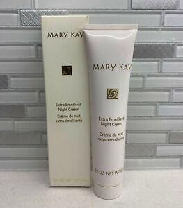 Mary Kay Extra Emollient Night Cream 2.1 Oz For Very Dry Skin NIB Old Stock
