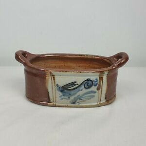 Mid Century Vintage Ceramic Plater Hand Made Patrick Lefebvre France Hare Rabbit