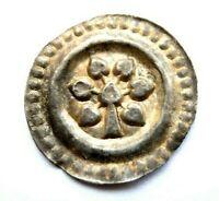 Lindau königliche Münzstätte Brakteat Silber 12.Jh. sehr schön-vorzüglich