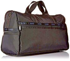 LeSportsac $158 NEW Large Weekend Black Duffel Bag Carry On Luggage Satchel