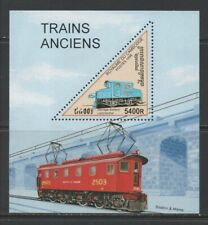 Thematic Stamps Transports - CAMBODIA 1998 TRAINS MS mint