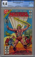 MASTERS OF THE UNIVERSE #1 CGC 9.4 1ST COMIC SERIES HE-MAN WHITE PAGES