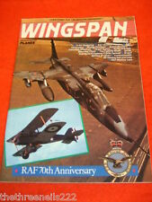 WINGSPAN # 40 - RAF 70th - APRIL 1988