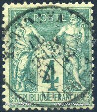 FRANCE SAGE N° 63 AVEC OBLITERATION COTE 90€