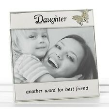 Silver Daughter Photo Frame Gift Ideal Birthday Gift New Boxed