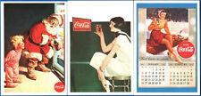 LOTTO#9 - 3 FIGURINE STICKERS THE WORLD OF COCA COLA
