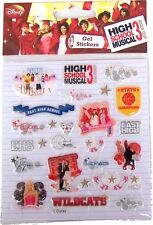 High School Musical 3 Adhesives IN Gel Official Stickers ss0002