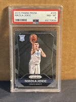 2015 Panini Prizm #335 Nikola Jokic RC Nuggets Rookie PSA 8