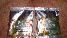 HIGH SPIRITS Rum Turbo Yeast or Molasses moonshine in stock 29 packs ready 2 ea