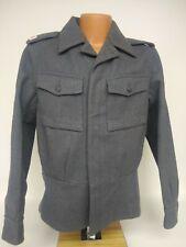 Vintage Finnish army wool jacket Finland army grey wool jacket M65 Size MD 848
