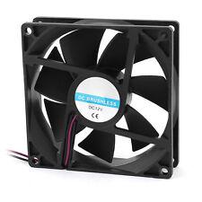 90mm x 25 mm 9025 della cassa del PC 2pin 12V DC Brushless CPU Cooler vento X8V7