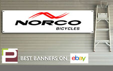 Norco Bike Banner, PVC Sign for workshop, garage, Man cave, Norco Mountain Bike