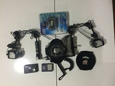 Canon S 110 + underwater housing+wide angle wet lens,tray+2 Intova PX 21 strobes