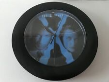 X-files  1996 clock wall clock black new