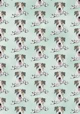 Amelia Florence - Gift Wrap - Jack Russell - Just A Little Gift