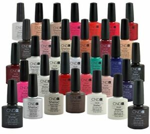 CND SHELLAC Color Coat Gel Polish 7.3ml- Choose your shade NEW BOXED