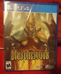 Blasphemous Limited Run #304 Sony PlayStation 4 [PS4 Team17 Action Fantasy] NEW