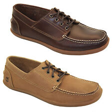Timberland Odelay 4-Eye Boat Deck Shoes Low Shoes Lace Up Men Shoes