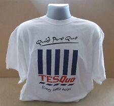 STATUS QUO Quid Pro Quo TESQuo 2011 UK white promo only T shirt NEW/UNWORN XL