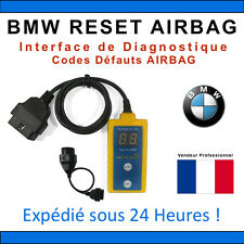 RESET BMW AIRBAG - Réinitialisation AIRBAG pour BMW - INPA BMW SCANNER ICOM NCS