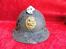 Antique Steel Helmet__bodenfund__ Well 1 WORLD WAR __ LION __