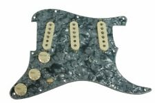 Fender Custom Shop Abby 69 Pickups Loaded Strat Pickguard Cream on Black Pearl