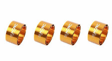 KCNC Hollow Design Road Mountain Bicycle Bike Headset Spacers 20mm 4pcs Gold
