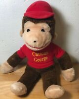 "Vintage Knickerbocker Curious George 14"" Plush Toy Stuffed Animal"