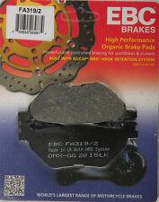EBC BRAKE PADS Fits: Yamaha FJR1300AE,VMX1700 V-Max,XV1900CT Stratoliner Deluxe,
