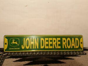 John Deere Road Metal Sign