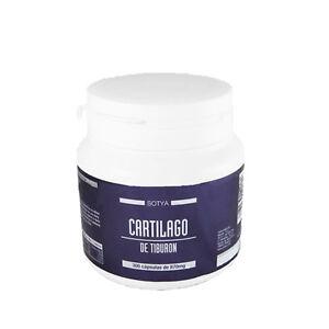 CARTILAGO DE TIBURON 750 mg. 300 Capsulas - SOTYA - Huesos y Articulaciones