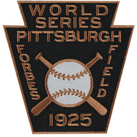 1925 Pittsburgh Pirates World Series Sleeve Patch Forbes Field Jersey MLB Logo
