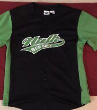 -$5 Marvel Incredible Hulk Baseball Jersey Shirt Avengers Legends Infinity War