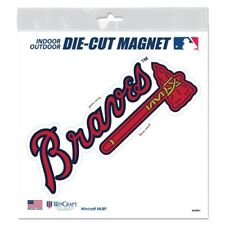 Atlanta Braves Magnet 6x3 Outdoor Rated Vinyl Auto Fridge MLB Baseball Logo Team