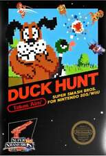 Club Nintendo Duck Hunt for Super Smash Bros 3DS / Wii U Poster