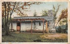 (374) Postcard of Boones Cabin, High Bridge, Ky. Posted 1910